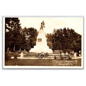 Postcard Estonia Narva-Jõesuu Monument