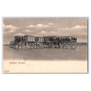 Postcard Estonia Pärnu Pärnu beach