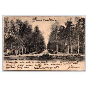 Postcard Estonia Pärnu Supeluse street