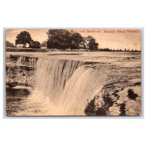Postcard Estonia, Jägala Jägala waterfall