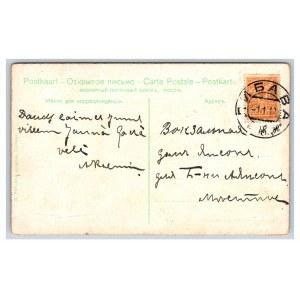 Postcard Estonia, Keila M. Luther monument