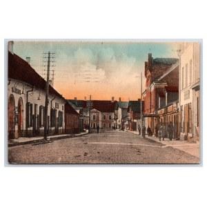 Postcard Estonia, Rakvere Pikk street