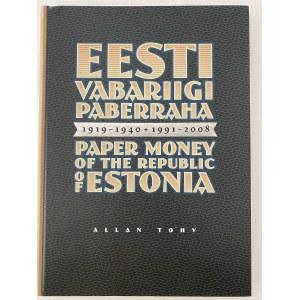 Allan Tohv, Eesti Vabariigi paberraha 1919-1940+1991-2008
