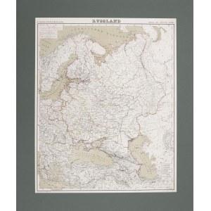Mapa RUSSLAND,1856