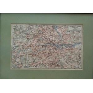 Mapa UMGEBUNG von LONDON