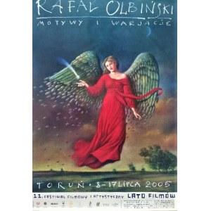 Rafał Olbiński,plakat Motywy i Wariacje2005