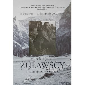 plakat ,Marek i Jacek Żuławscy