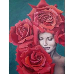 Olena Lytvynenko (ur. 1979 r., Moskwa), Rose Girl, 2021 r.