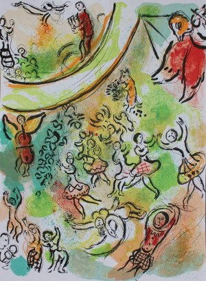 Marc Chagall, Plafon Opery Paryskiej. Frontispice