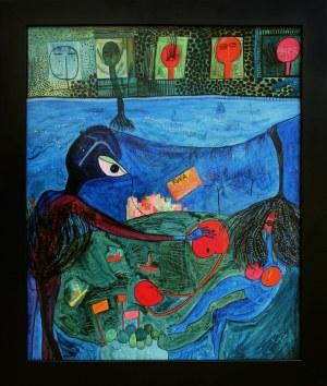 Ewa Kuryluk, Morze, noc i list