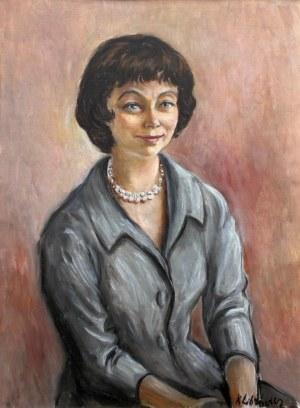 Katarzyna Librowicz, Portret brunetki z perłami