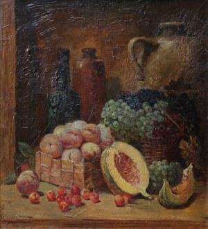 Konstanty Mackiewicz, Martwa natura z owocami