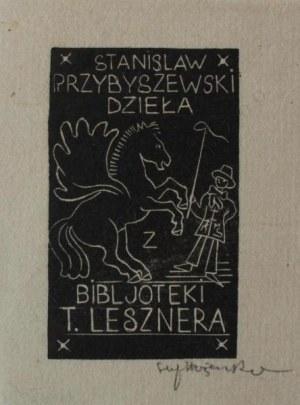 Stefan Mrożewski, Ex-libris. Stanisław Przybyszewski Dzieła z Biblioteki T.Lesznera