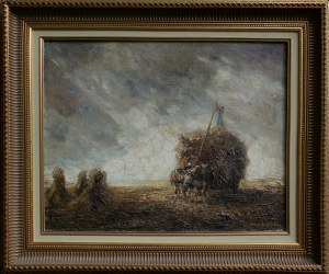 Otto Eduard Pippel, Zbiór zboża przed burzą