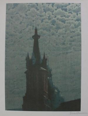 Józef Rapacki, Wieża Kościoła Mariackiego