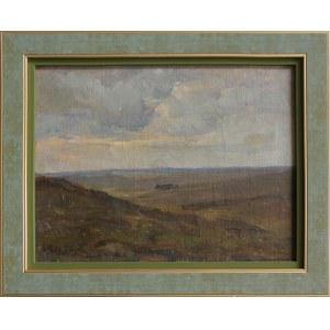 Henryk Szczygliński, Pejzaż jesienny z polami