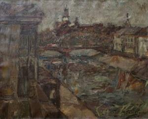 Włodzimierz Zakrzewski, Pejzaż miejski z mostem