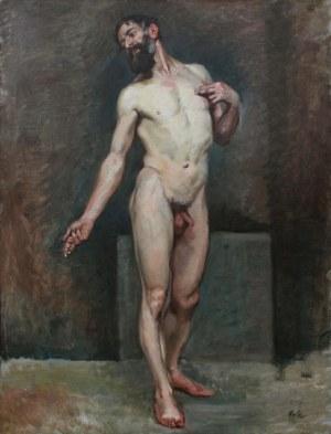 A.N.(XIX/XX w.), Studium aktu męskiego