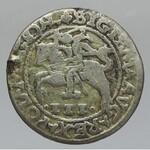 Polsko, Zikmund II. August 1544-1572III groš 1566 Vilnius