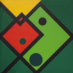 Radosław Sowiak, Warcaby z Mondrianem, 2016