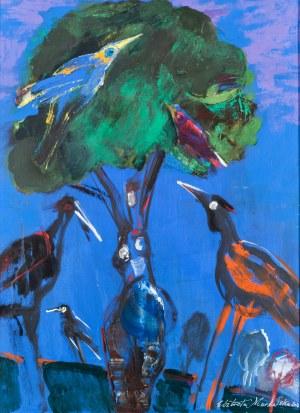 Murawska Elżbieta, Kompozycja z ptakami