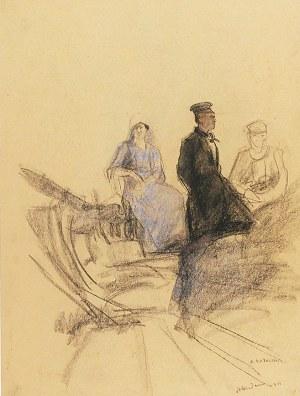Artur MARKOWICZ (1872-1934), Trzy postacie, 1911