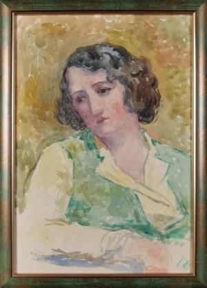 Leonard PĘKALSKI (1896-1944), Portret Wandy P., ok. 1935