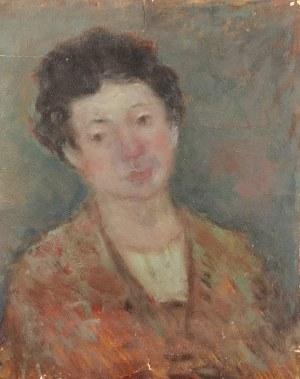 Malarz nieokreślony, Portret kobiety, 1 poł. XX w.