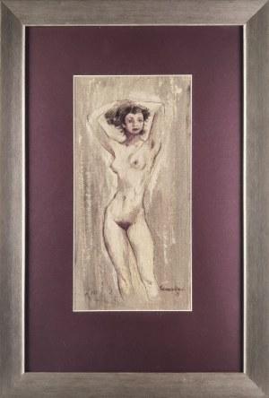 Jan SZANCENBACH (1928-1998), Akt kobiety, 1953