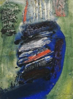 Marek OBERLANDER (1922-1978), Bez tytułu, 1964
