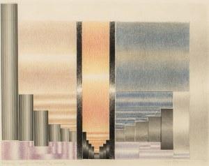 Zofia ARTYMOWSKA (1923 - 2000), Poliformy-Trzy momenty, 1986