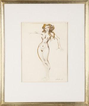 Jan LEBENSTEIN (1930 - 1999), Akt kobiecy, 1996