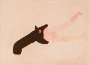 Basia BAŃDA ur. 1980, Bez tytułu (postać pożerana), 2006