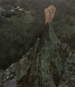 Michał ZAWADA ur. 1985, Landscape with Mountains and a Fist, 2019