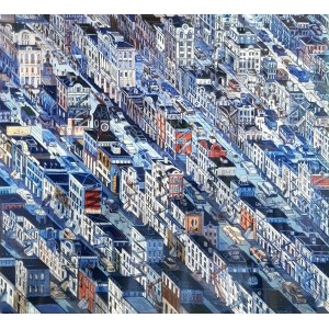 Edward Dwurnik, Nowy Jork Greenwich Village S