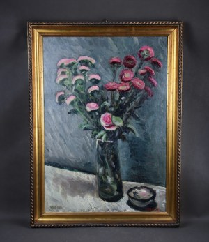 "Efraim Mandelbaum (1884-1943), ""Martwa natura z kwiatami"", ok. 1925 r."