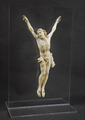 """""""Chrystus"""", kość słoniowa, ok. 1700 r. Francja;"""