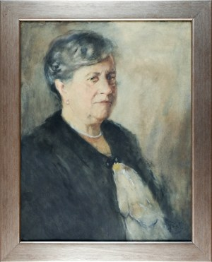 Julian FAŁAT (1853-1929), Portret damy
