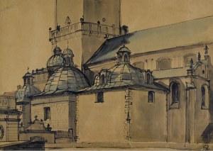 Stanisław NOAKOWSKI (1867 - 1928), Widok kościoła