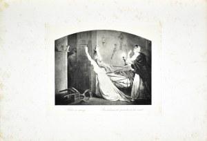 Artur GROTTGER (1837-1867), Pobór w nocy