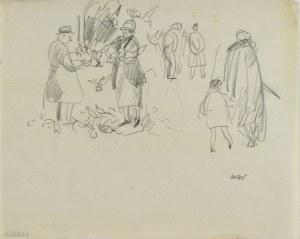Wojciech WEISS (1875-1950), Motyw z targu w Wenecji