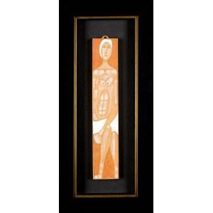 Jerzy Nowosielski (1923-2011), Akt kobiecy w białym czepku
