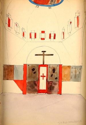Jerzy Nowosielski (1923-2011), Projekt ikonostasu