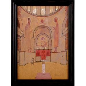 Jerzy Nowosielski (1923-2011), Projekt wnętrza sakralnego
