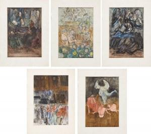 Włodzimierz SAWULAK (1906-1980), Zestaw 5 prac