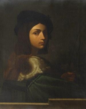 Autor nierozpoznany (XIX w.), Portret młodzieńca, XIX w.