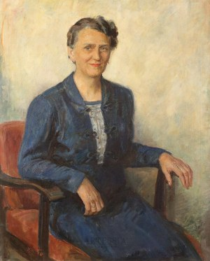 Stefan Just (1905-1977), Portret kobiety
