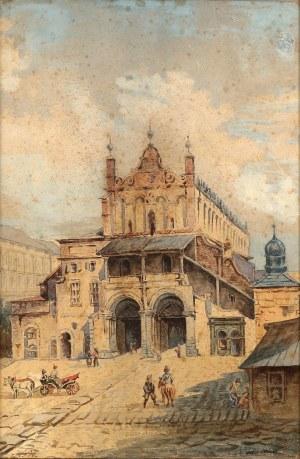 Karol Heimroth (1860-1930), Krakowskie sukiennice, k.XIX w.