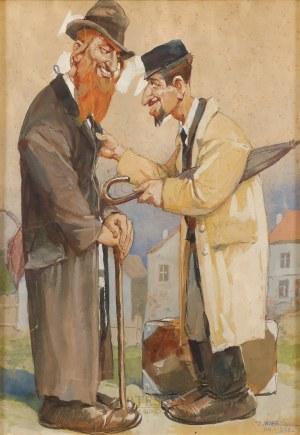 Zygmunt Wierciak (1881-1950), Szmonces, 1930