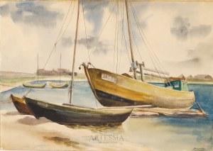 Maria Rogowska (1907-1977), Kuter w Jastarni, lata 50-te XX w.
